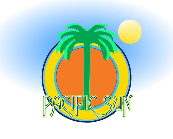 Logo Design by Private User - Entry No. 21 in the Logo Design Contest New Logo Design for PACIFIC SUN.