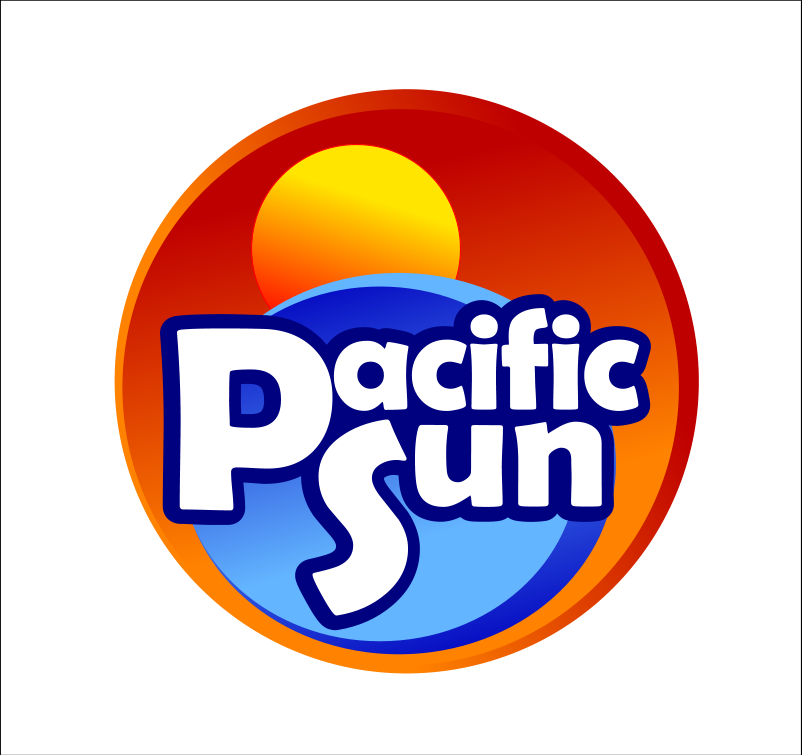 Logo Design by Xamburger - Entry No. 22 in the Logo Design Contest New Logo Design for PACIFIC SUN.