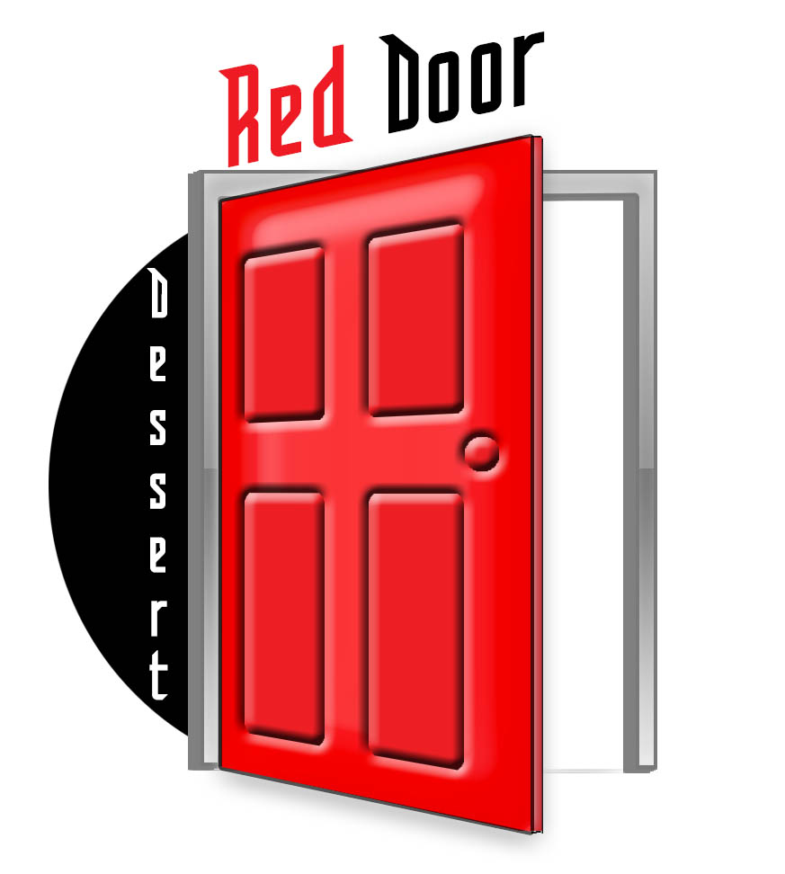 Logo Design by stammy - Entry No. 44 in the Logo Design Contest Fun Logo Design for Red Door Desserts.