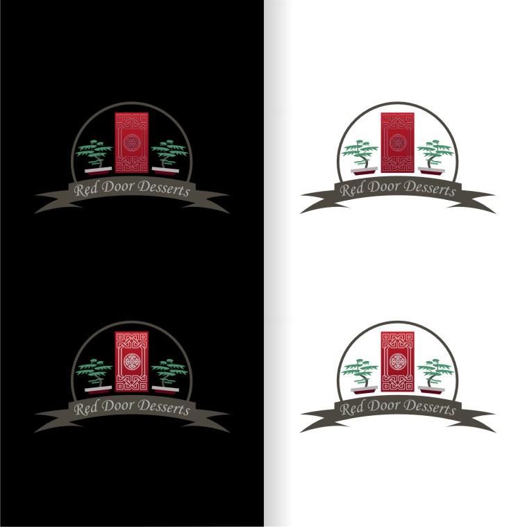 Logo Design by Muhammad Nasrul chasib - Entry No. 45 in the Logo Design Contest Fun Logo Design for Red Door Desserts.