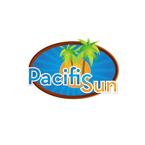 Logo Design by lumerb - Entry No. 29 in the Logo Design Contest New Logo Design for PACIFIC SUN.
