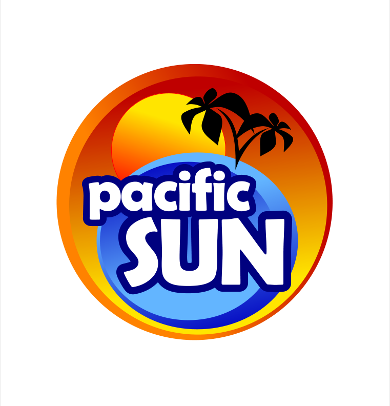 Logo Design by Xamburger - Entry No. 32 in the Logo Design Contest New Logo Design for PACIFIC SUN.