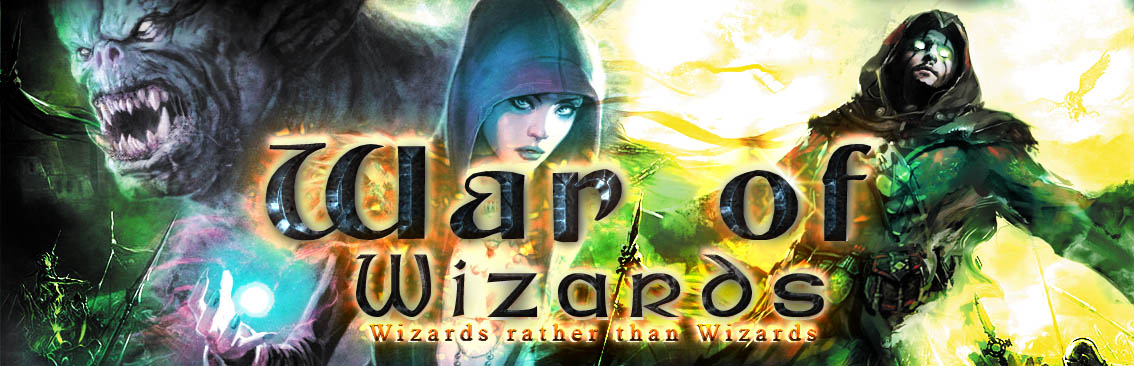 Banner Ad Design by Private User - Entry No. 75 in the Banner Ad Design Contest Banner Ad Design - War of Wizards (fantasy game).