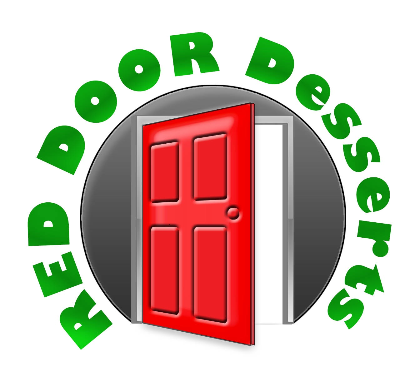 Logo Design by stammy - Entry No. 50 in the Logo Design Contest Fun Logo Design for Red Door Desserts.