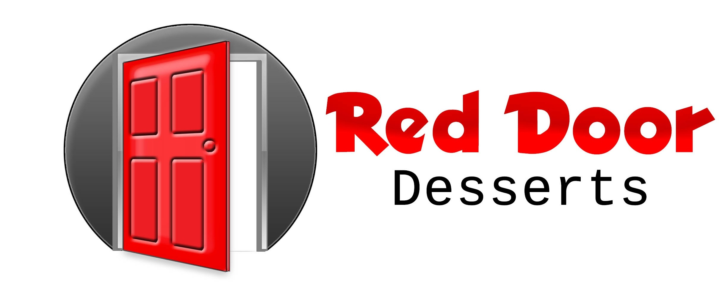 Logo Design by stammy - Entry No. 52 in the Logo Design Contest Fun Logo Design for Red Door Desserts.