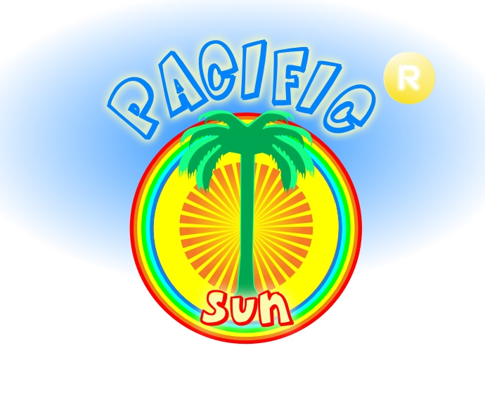 Logo Design by Private User - Entry No. 35 in the Logo Design Contest New Logo Design for PACIFIC SUN.