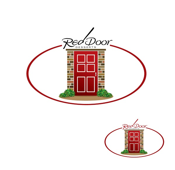 Logo Design by kowreck - Entry No. 58 in the Logo Design Contest Fun Logo Design for Red Door Desserts.