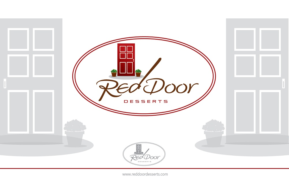 Logo Design by kowreck - Entry No. 60 in the Logo Design Contest Fun Logo Design for Red Door Desserts.