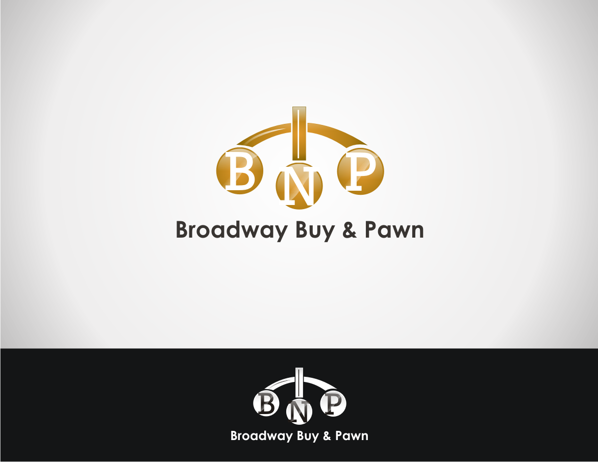 Logo Design by bagongkamso - Entry No. 70 in the Logo Design Contest Unique Logo Design Wanted for Broadway Buy & Pawn corp or BNP for short.