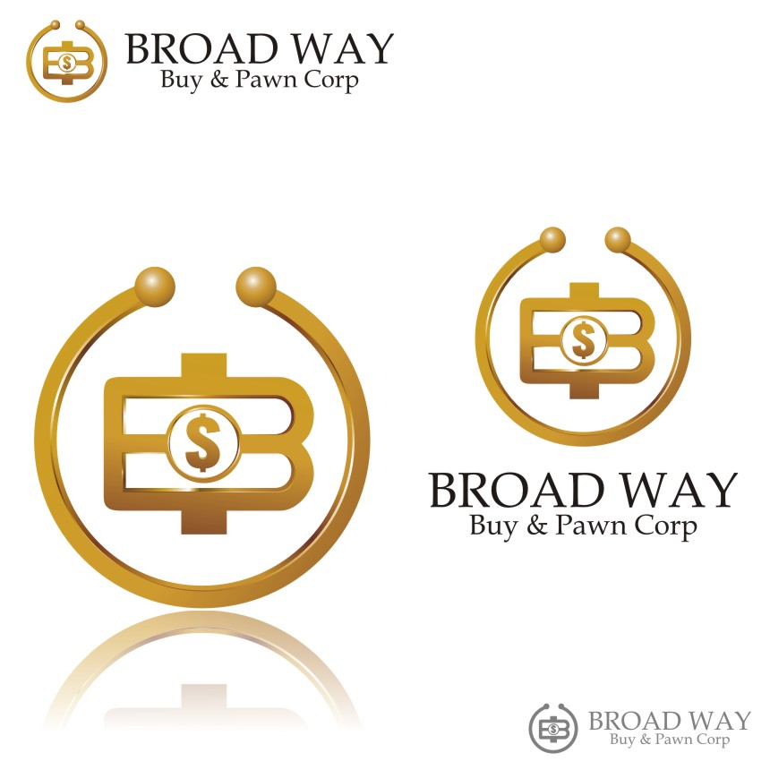 Logo Design by graphicleaf - Entry No. 72 in the Logo Design Contest Unique Logo Design Wanted for Broadway Buy & Pawn corp or BNP for short.