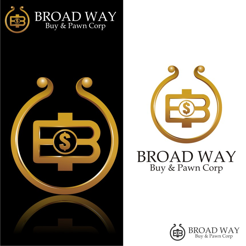 Logo Design by Muhammad Nasrul chasib - Entry No. 73 in the Logo Design Contest Unique Logo Design Wanted for Broadway Buy & Pawn corp or BNP for short.