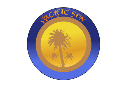 Logo Design by dimitrovart - Entry No. 36 in the Logo Design Contest New Logo Design for PACIFIC SUN.