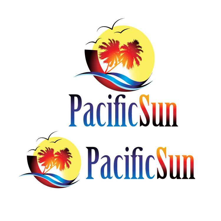 Logo Design by stormbighit - Entry No. 37 in the Logo Design Contest New Logo Design for PACIFIC SUN.