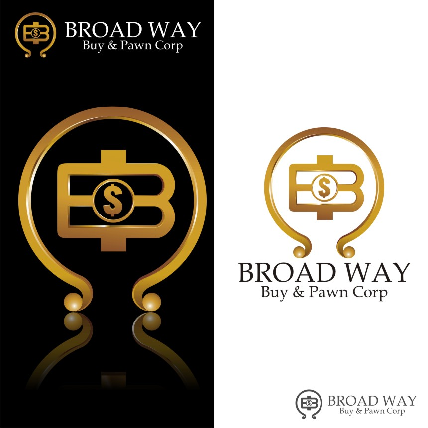 Logo Design by graphicleaf - Entry No. 74 in the Logo Design Contest Unique Logo Design Wanted for Broadway Buy & Pawn corp or BNP for short.