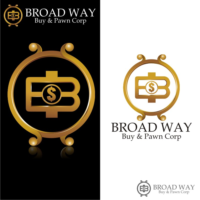 Logo Design by Muhammad Nasrul chasib - Entry No. 75 in the Logo Design Contest Unique Logo Design Wanted for Broadway Buy & Pawn corp or BNP for short.
