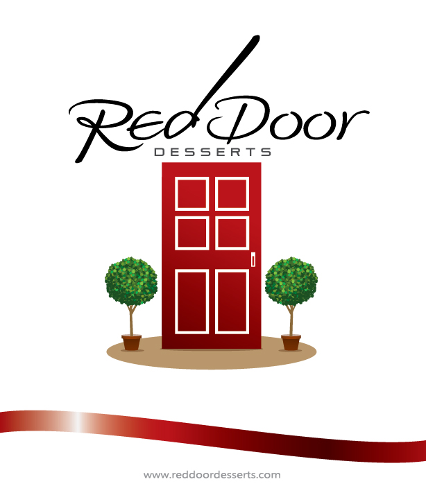 Logo Design by kowreck - Entry No. 65 in the Logo Design Contest Fun Logo Design for Red Door Desserts.