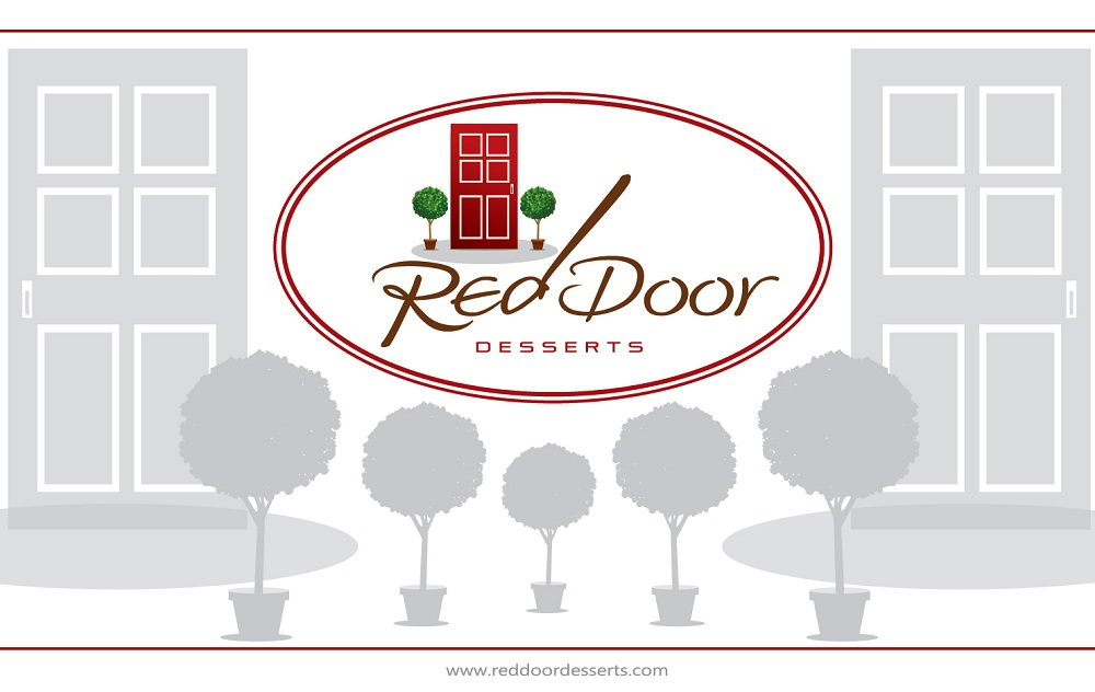 Logo Design by kowreck - Entry No. 66 in the Logo Design Contest Fun Logo Design for Red Door Desserts.