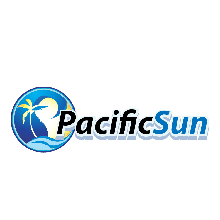 Logo Design by stormbighit - Entry No. 41 in the Logo Design Contest New Logo Design for PACIFIC SUN.