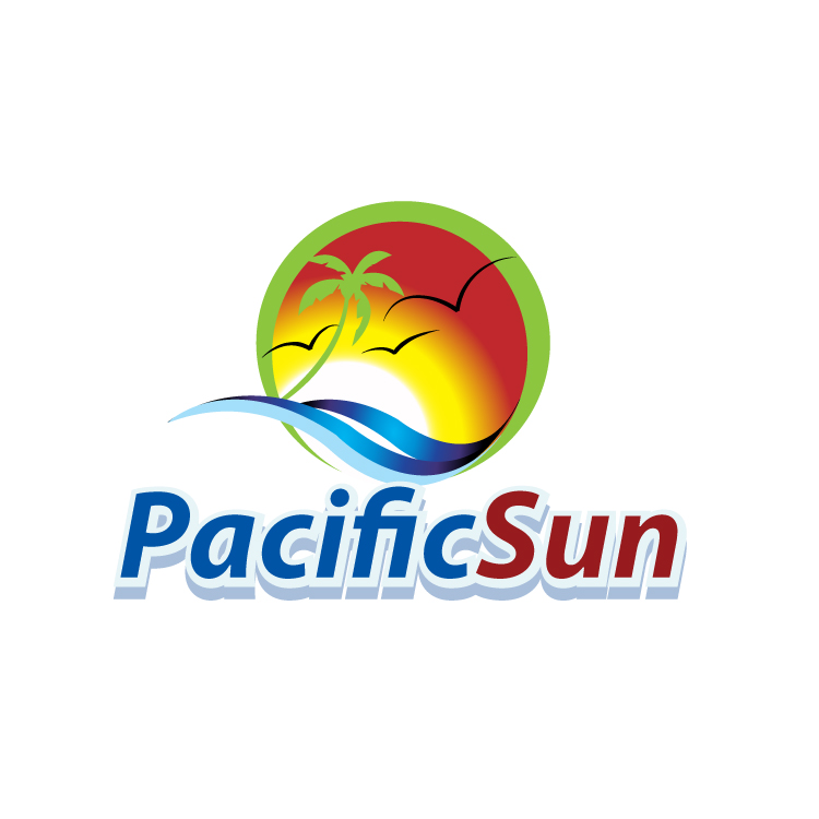 Logo Design by stormbighit - Entry No. 42 in the Logo Design Contest New Logo Design for PACIFIC SUN.