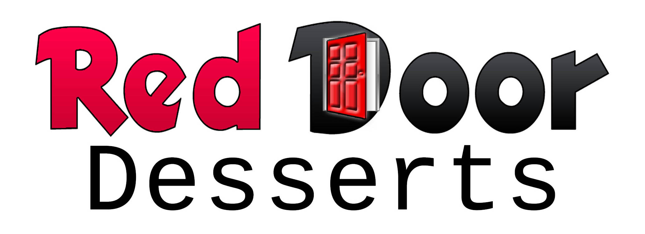 Logo Design by stammy - Entry No. 68 in the Logo Design Contest Fun Logo Design for Red Door Desserts.