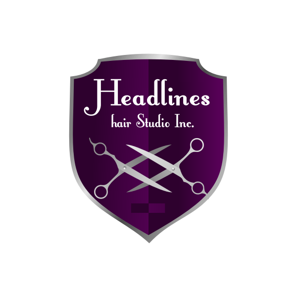 Logo Design by Rudy - Entry No. 3 in the Logo Design Contest Fun Logo Design for HEADLINES HAIR STUDIO INC.