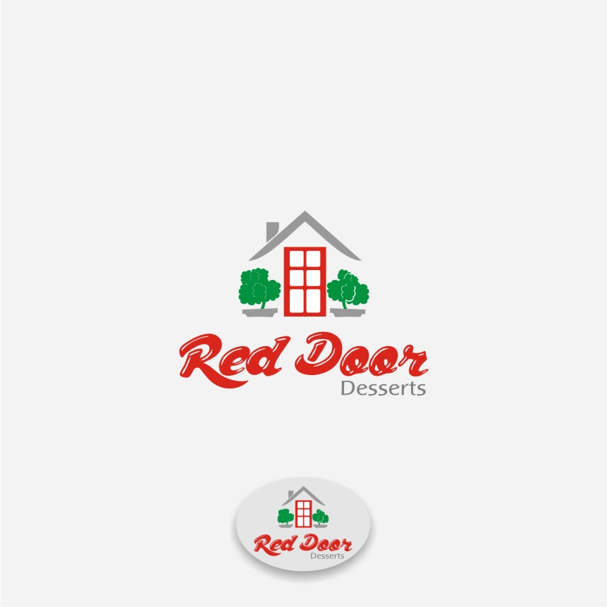 Logo Design by graphicleaf - Entry No. 73 in the Logo Design Contest Fun Logo Design for Red Door Desserts.