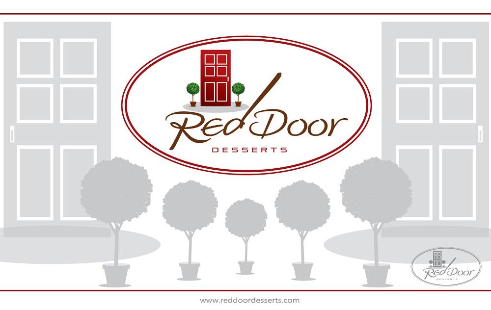 Logo Design by kowreck - Entry No. 77 in the Logo Design Contest Fun Logo Design for Red Door Desserts.
