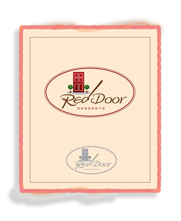 Logo Design by kowreck - Entry No. 78 in the Logo Design Contest Fun Logo Design for Red Door Desserts.