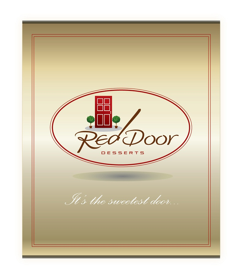 Logo Design by kowreck - Entry No. 79 in the Logo Design Contest Fun Logo Design for Red Door Desserts.