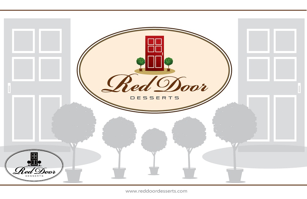 Logo Design by kowreck - Entry No. 84 in the Logo Design Contest Fun Logo Design for Red Door Desserts.
