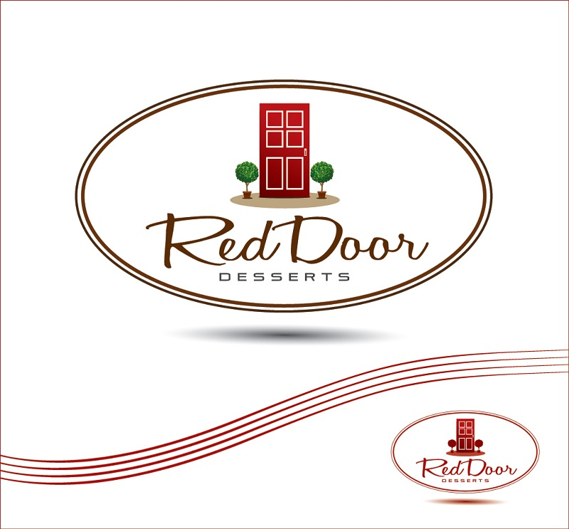 Logo Design by kowreck - Entry No. 85 in the Logo Design Contest Fun Logo Design for Red Door Desserts.