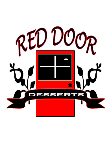 Logo Design by Moag - Entry No. 92 in the Logo Design Contest Fun Logo Design for Red Door Desserts.