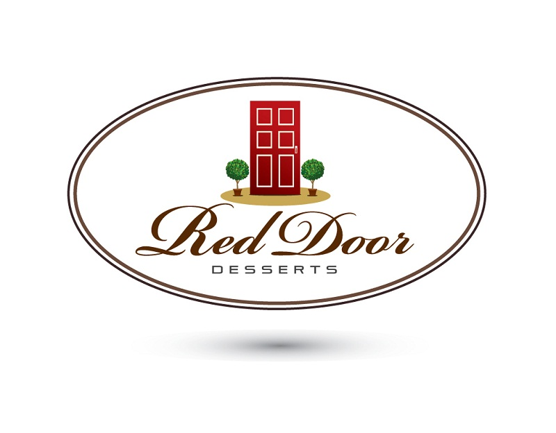 Logo Design by kowreck - Entry No. 98 in the Logo Design Contest Fun Logo Design for Red Door Desserts.