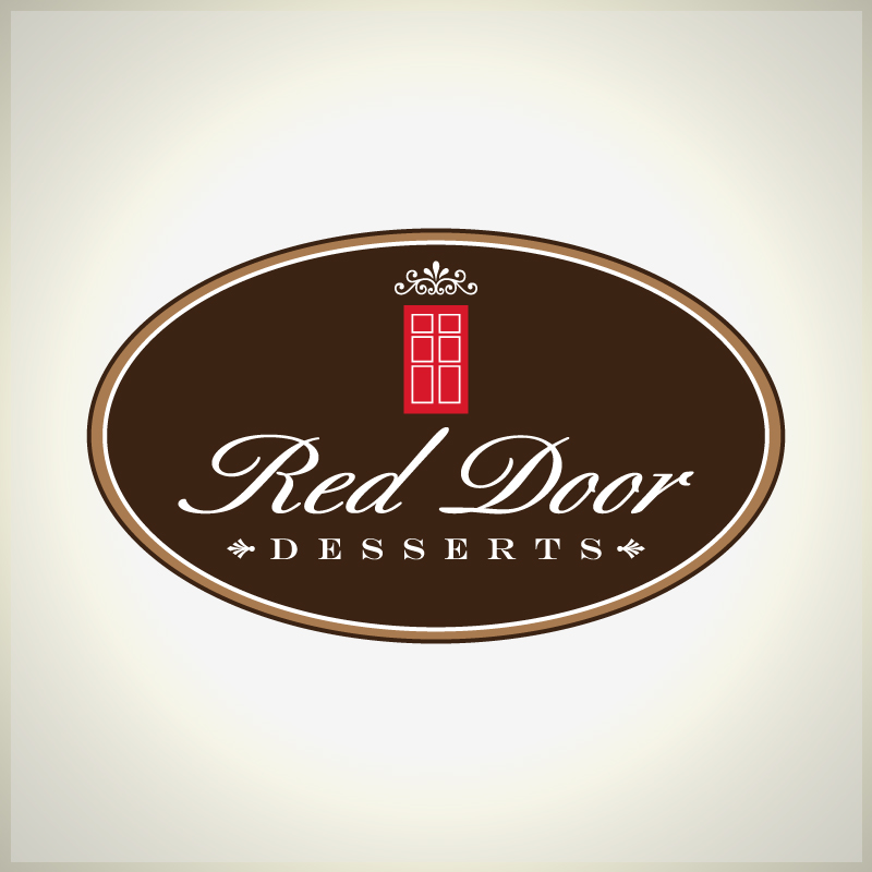 Logo Design by Number-Eight-Design - Entry No. 105 in the Logo Design Contest Fun Logo Design for Red Door Desserts.
