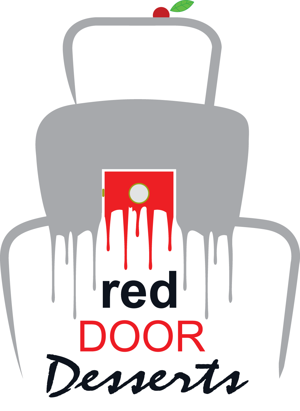 Logo Design by modo - Entry No. 106 in the Logo Design Contest Fun Logo Design for Red Door Desserts.