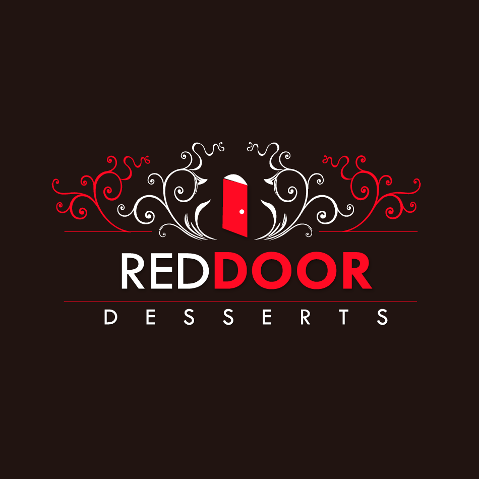 Logo Design by moonflower - Entry No. 107 in the Logo Design Contest Fun Logo Design for Red Door Desserts.