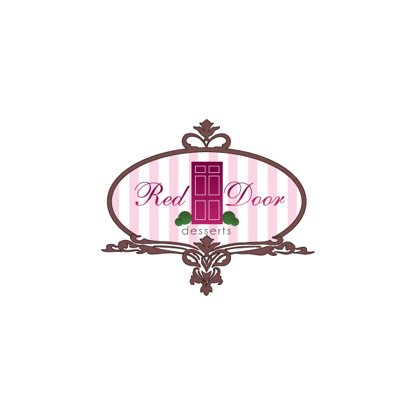 Logo Design by Private User - Entry No. 110 in the Logo Design Contest Fun Logo Design for Red Door Desserts.