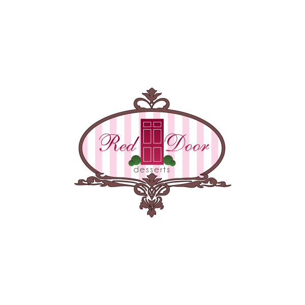 Logo Design by Private User - Entry No. 111 in the Logo Design Contest Fun Logo Design for Red Door Desserts.