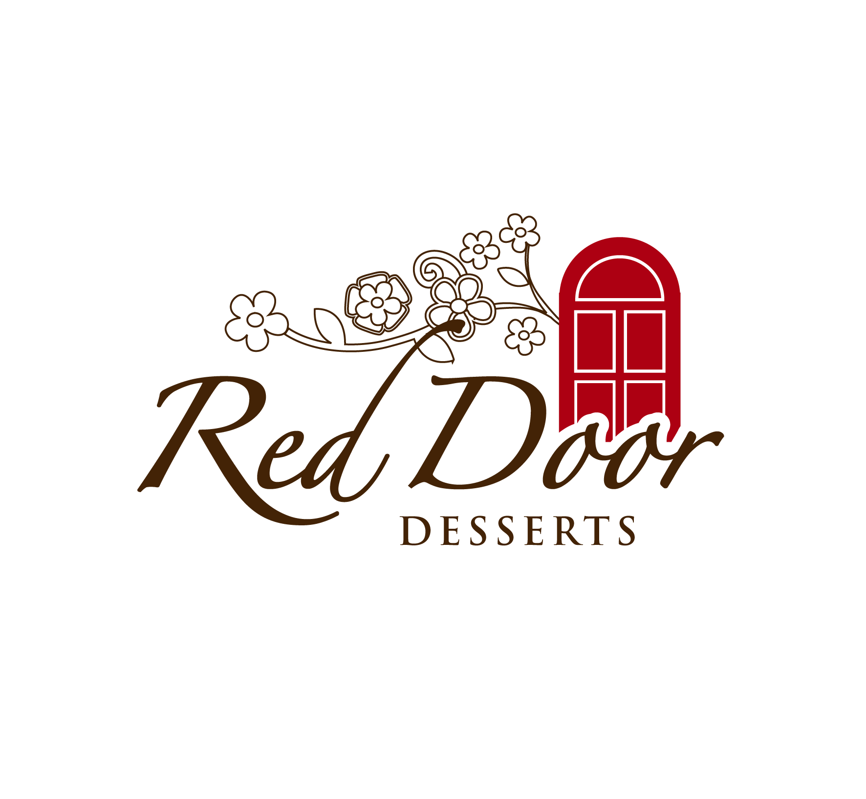 Logo Design by luna - Entry No. 113 in the Logo Design Contest Fun Logo Design for Red Door Desserts.