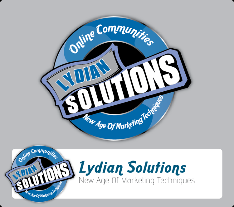 Logo Design by Md Iftekharul Islam Pavel - Entry No. 1 in the Logo Design Contest Fun Logo Design for Lydian Solutions.