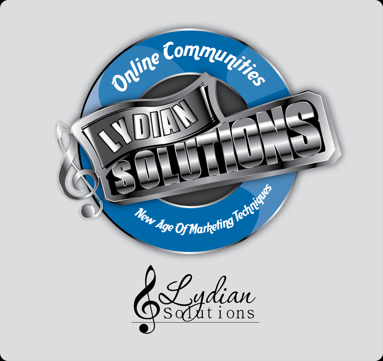 Logo Design by Md Iftekharul Islam Pavel - Entry No. 6 in the Logo Design Contest Fun Logo Design for Lydian Solutions.