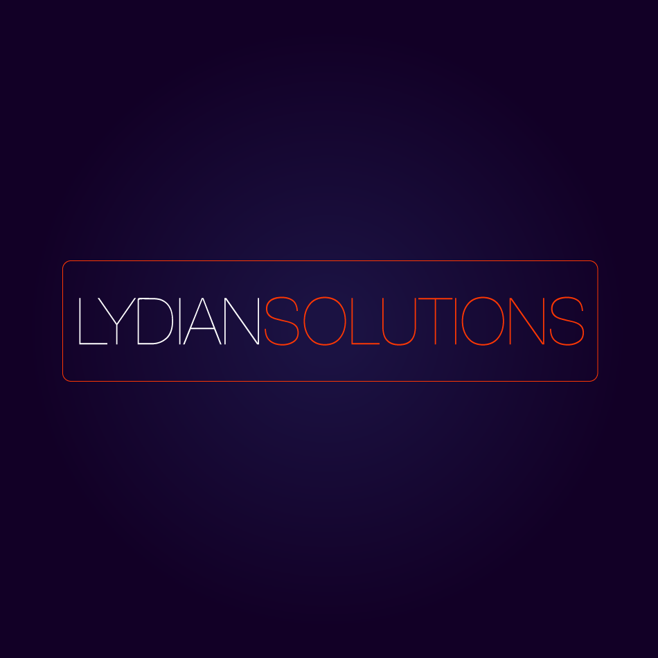 Logo Design by moonflower - Entry No. 11 in the Logo Design Contest Fun Logo Design for Lydian Solutions.