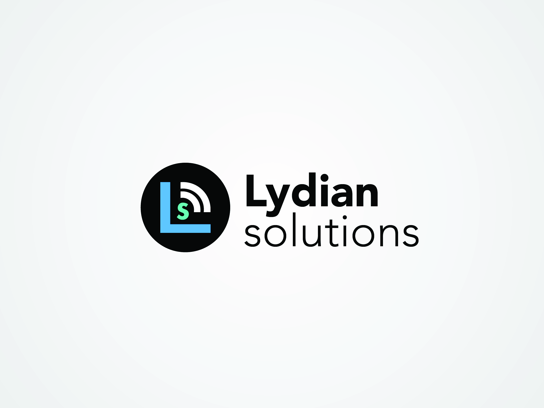 Logo Design by hali3n - Entry No. 18 in the Logo Design Contest Fun Logo Design for Lydian Solutions.