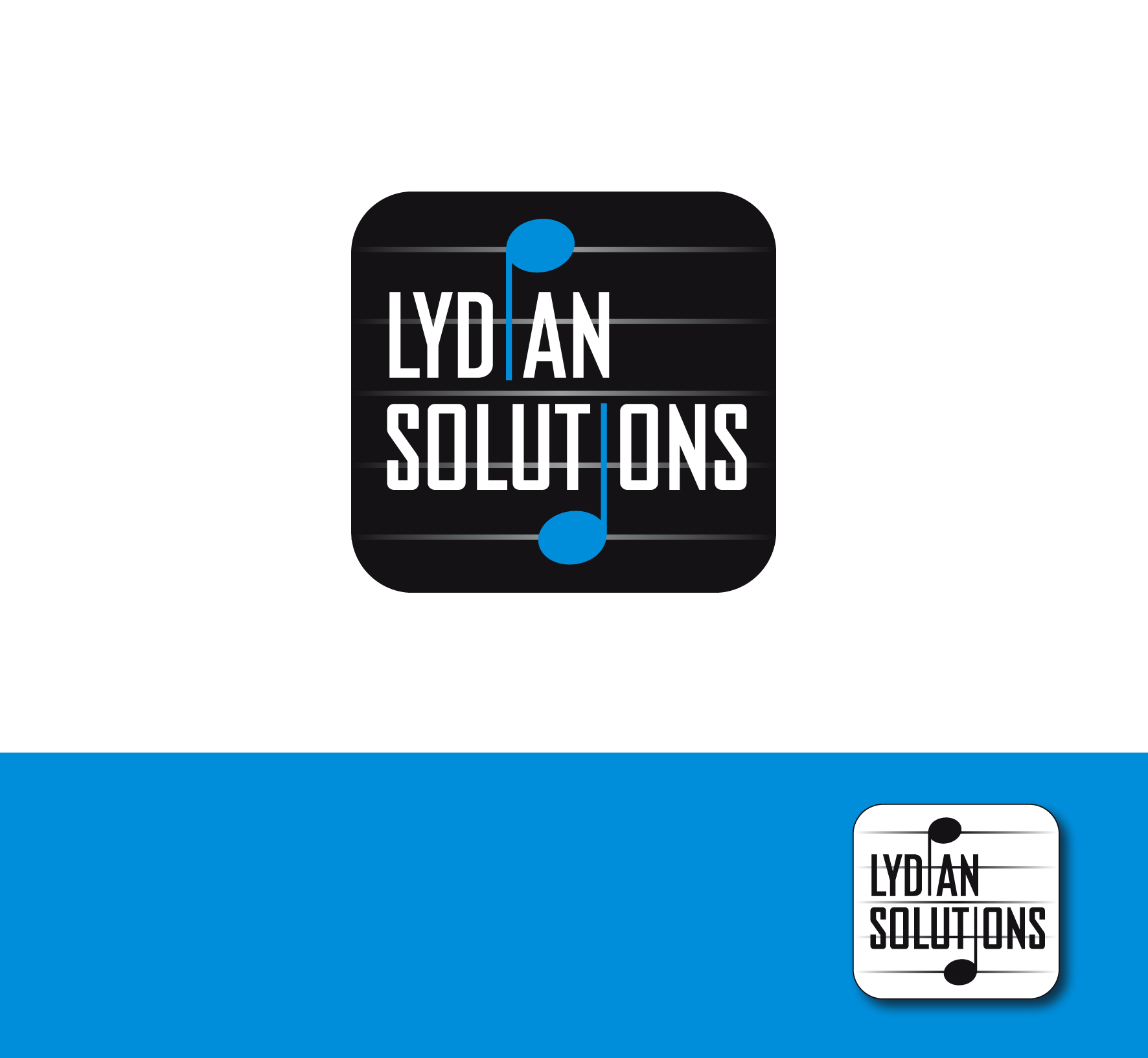 Logo Design by luna - Entry No. 26 in the Logo Design Contest Fun Logo Design for Lydian Solutions.