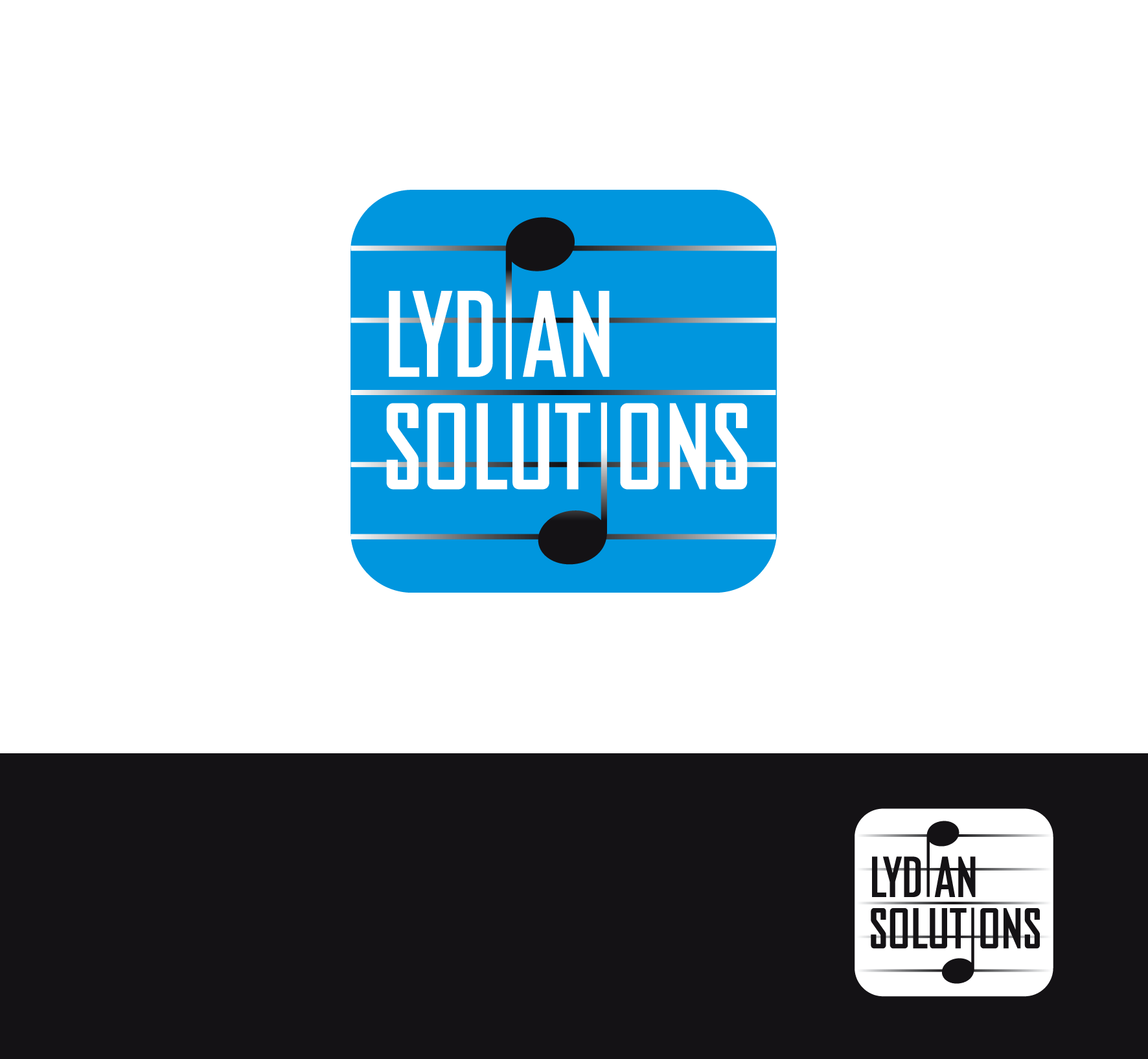 Logo Design by luna - Entry No. 27 in the Logo Design Contest Fun Logo Design for Lydian Solutions.
