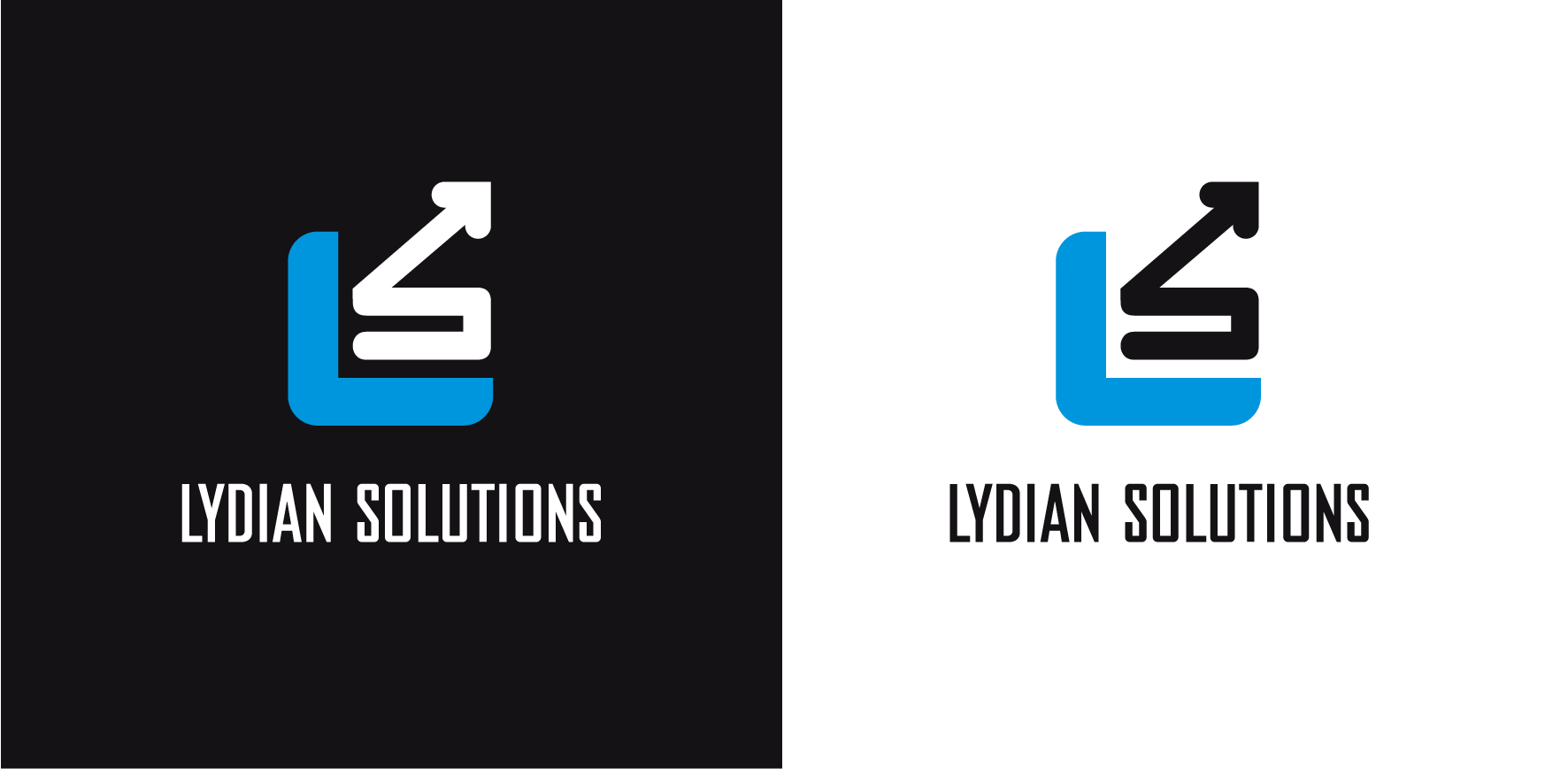 Logo Design by luna - Entry No. 43 in the Logo Design Contest Fun Logo Design for Lydian Solutions.