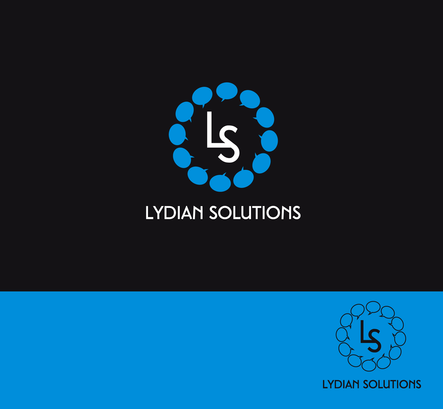 Logo Design by luna - Entry No. 44 in the Logo Design Contest Fun Logo Design for Lydian Solutions.
