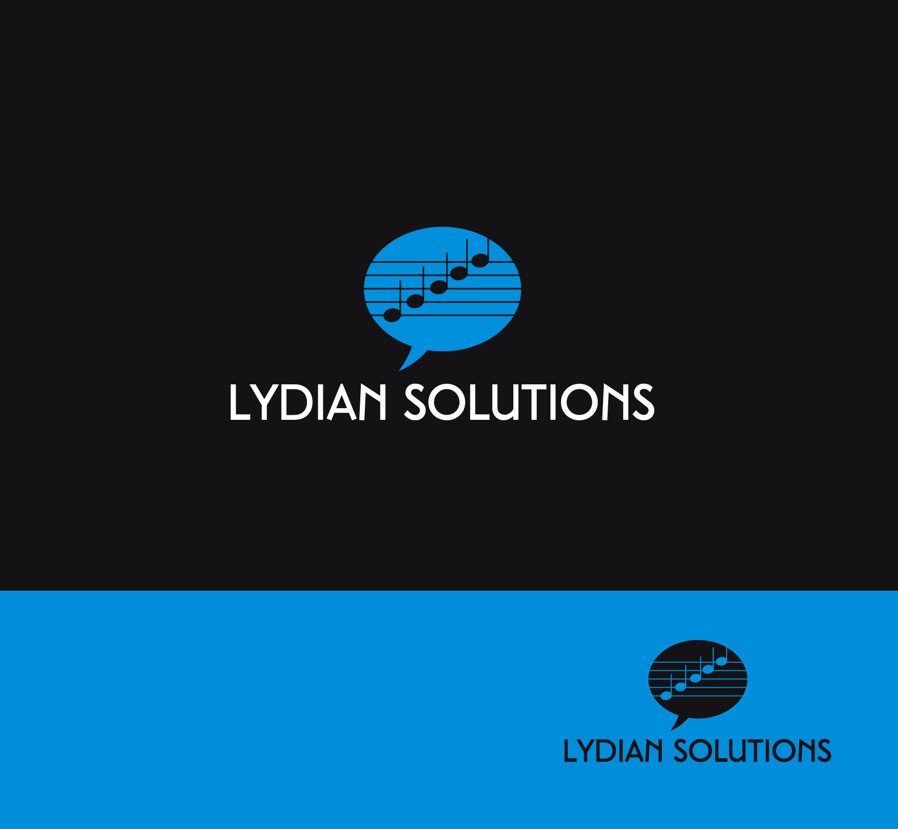 Logo Design by luna - Entry No. 45 in the Logo Design Contest Fun Logo Design for Lydian Solutions.