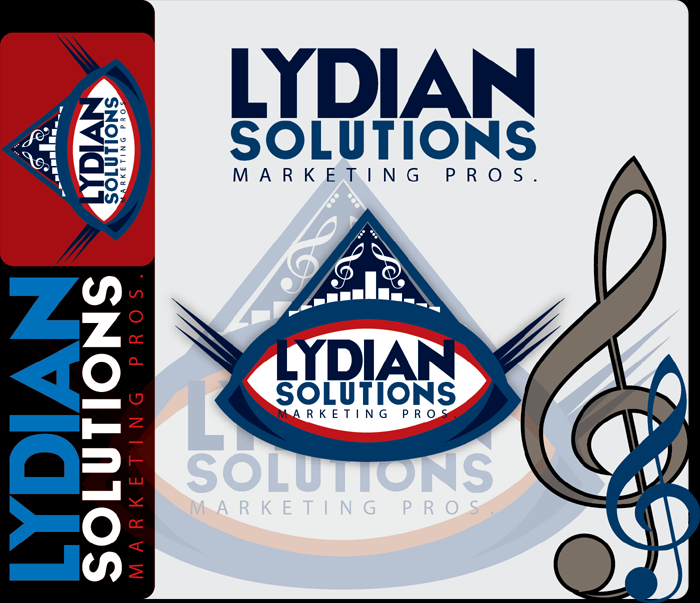 Logo Design by Md Iftekharul Islam Pavel - Entry No. 48 in the Logo Design Contest Fun Logo Design for Lydian Solutions.