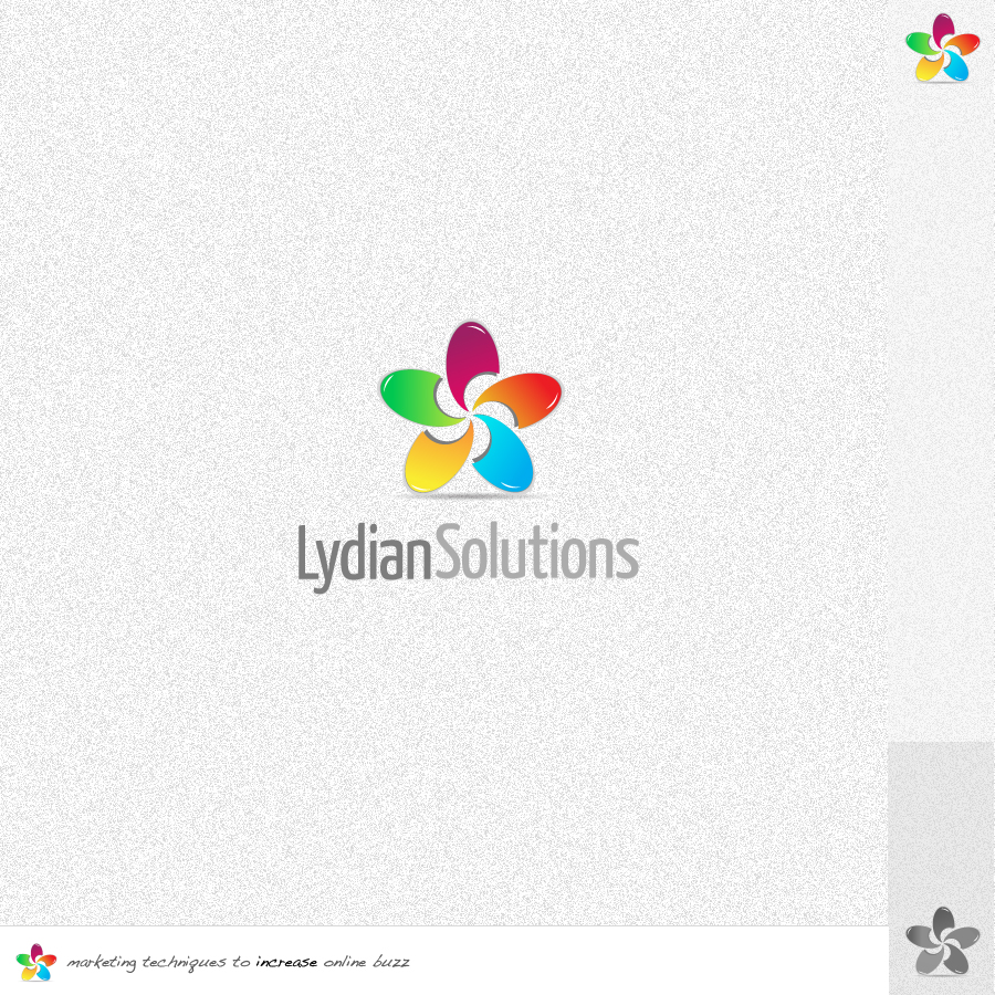 Logo Design by rockpinoy - Entry No. 56 in the Logo Design Contest Fun Logo Design for Lydian Solutions.